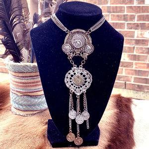 Boho-antique necklace
